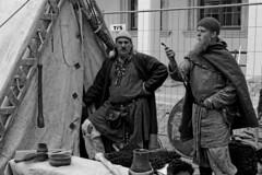 Torgelow Knights (TomasLudwik) Tags: bw night poland knights tamron noc torgelow 1750mm kupala d7100 kupaly