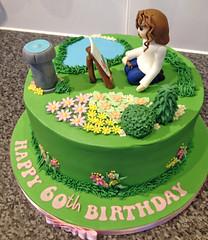 Garden Painter Cake