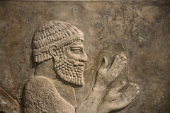 Khorsabad Palace of King Sargon II People of Mushki Deliver Tribute Chicago Oriental Institute Museum (Bruce Allardice) Tags: iraq palace assyria sargonii sargon khorsabad dursharrukin