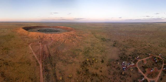 desert crater crator drone quadcopter phanton2vision geeksgobush