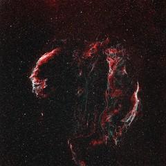 Veil-HOO-X (Astro Photographer) Tags: veil nebula astrometrydotnet:status=solved astrometrydotnet:version=14400
