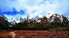 The journey is the goal (flowerikka) Tags: snow mountains clouds way fitzroy losglaciares elchalten argentinia elpilar