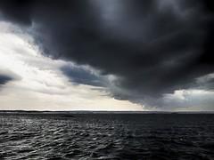 """Danish dynamite"" (Aguno) Tags: sea clouds photoshop sweden samsung balticsea thunderstorm pf aguno draganizer niksoftware galaxys2"