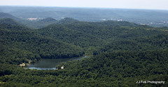 Sid Calk Lake (J.J.Folk Photography) Tags: trees foothills lake water rural private us view kentucky unitedstatesofamerica country aerial hills knobs exclusive birdseye notpublic montgomerycounty hollers sidcalklake calklake