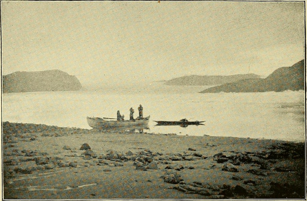"Image from page 473 of ""Northward over the great ice : a narrative of life and work along the shores and upon the interior ice-cap of northern Greenland in the years 1886 and 1891-1897, with a description of the little tribe of Smith Sound Eskimos, the mo"