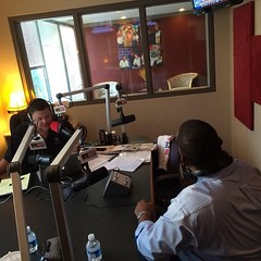On the air with Matt Murphy this morning. #TeamDarius