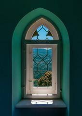 Window in Door tower (Hohenzollern) (KF-Photo) Tags: fenster hechingen hohenzollern fensterblick burghohenzollern torturm pentaxart adaptivewideangel