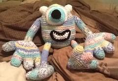 Lauren Price (The Crochet Crowd) Tags: mike toy mikey cal amigurumi redheart monstersinc crochetalong crochetpattern staceytrock freecrochetpattern thecrochetcrowd michaelsellick mysterycrochetchallenge whosinyourcloset monstersinccrochetpattern monstersuniversitycrochetpattern