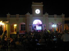 Outdoor Super Bowl party (Dogbite) Tags: party night hotel cuba memories resort superbowl varadero