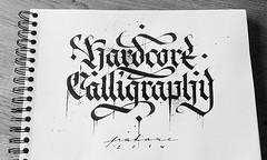 Hardcore Calligraphy