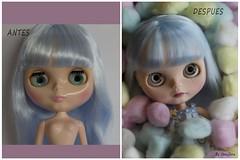 Duna antes y ahora (Heniferu) Tags: ooak blythe custom tbl duna heniferu