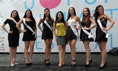 Miss National Asia and her court (beppesabatini) Tags: sanfrancisco california streetfairs japantown streetfestivals newpeople beautyqueens japantownmerchantsassociation jpopsummitfestival2014