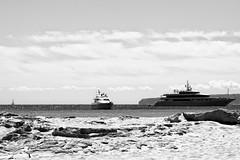 Formentera B&W (CreazioniDusiero) Tags: summer beach canon spain mare paesaggi formentera spiaggia 1000 biancoenero