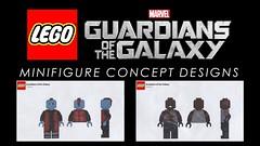 LEGO Guardians of the Galaxy - Minifigure Concept Design Showcase (Adeel Zubair) Tags: design graphicdesign lego showcase minifigure groot youtube thecollector korath guardiansofthegalaxy yondu
