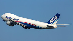 "Nippon cargo 747-8F • <a style=""font-size:0.8em;"" href=""http://www.flickr.com/photos/125767964@N08/14803492295/"" target=""_blank"">View on Flickr</a>"