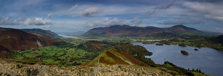 Looking North from Catbells