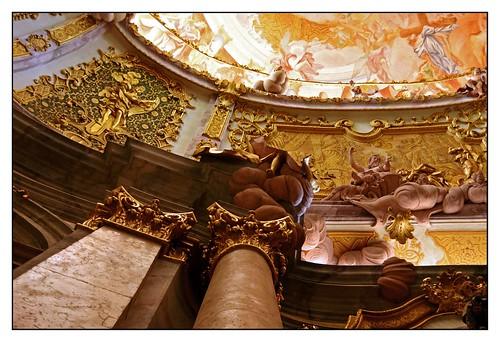 13.06.30.16.28.43 Kloster Weltenburg, Klosterkirche, Egid Quirin Asam und Cosmas Damian Asam