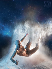 Falling Star (All About Light!) Tags: color concept powder little boxes theater models studio photography arthur koch lighting dance fallingstar heaven stars