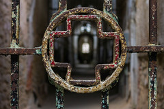 Eastern State Penitentiary 043 (davebentleyphotography) Tags: esp easternstate easternstatepenitentiary philadelphia prison abandoned decay rust philly tourist tour