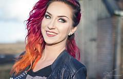 Sunset Hair (Paula Darwinkel) Tags: girl portrait glamour beaty hairstyle model eyes female fashion