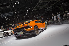 Track ready (Iceman_Mark) Tags: lamborghini huracan lp 6404 performante design filippo perini orange 52litre naturally aspirated v10 sportscar pirelli pzero salon geneve geneva motorshow 2017