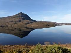 Reflections (Traigh Mhor) Tags: 2017 march hilwalk highland scotland graham coigach benmorecoigach