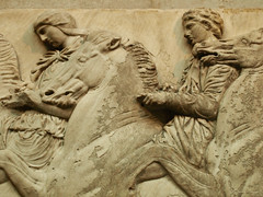 Riders of the storm (DameBoudicca) Tags: england inglaterra angleterre inghilterra イングランド britain greatbritain unitedkingdom uk storbritannien vereinigteskönigreich reinounido royaumeuni regnounito イギリス london londres londra ロンドン britishmuseum musée museum museo 博物館 scultura sculpture escultura skulptur 彫刻 relief relieve bassorilievo レリーフ phidias pheidias φειδίασ fidias fidia ペイディアス elginmarbles parthenonmarbles marbresdelgin marbresduparthénon γλυπτάτουπαρθενώνα marmidielgin marmidelpartenone エルギンマーブル frieze fris fries friso frise fregio フリーズ rider ryttare reiter jinete cavalier cavaliere 騎手 horse häst pferd caballo cheval cavallo 馬 うま