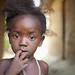 Little Girl in Sahn - Sierra Leone.