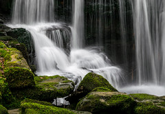 Swansea Valley Waterfall (ciaranryanphotography) Tags: river slowshutter waterfall stream fall falls mossy rocks wales swansea valley creek spring outdoor nature green serene peaceful
