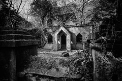 Talysarn Hall Chapel (ShrubMonkey (Julian Heritage)) Tags: talysarn hall chapel gothic dorothea quarry house slate disused derelict abandoned forgotten ruin ruined eerie landscape wales building secluded isolation mountains snowdonia sonyalpha nantlle