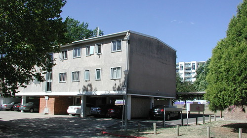 concret flats and parking