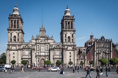 Mexico City Metropolitan Cathedral and Zocalo