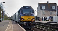 68019 Oulton Broad North 05/04/2017 (Flash_3939) Tags: 68019 brutus class68 diesel locomotive abelliogreateranglia aga locohauled oultonbroadnorth oun station 2j70 angliaplus rail railway train uk april 2017