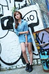 Yibi0035 (Mike (JPG直出~ 這就是我的忍道XD)) Tags: yibi 西門町 d300 model beauty 外拍 portrait 2013 fifi