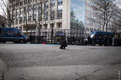 Cops line (Hermann.Click) Tags: paris police cops démonstration manifestation gendarmerie architecture lutte grève ouvrier strike social revendication