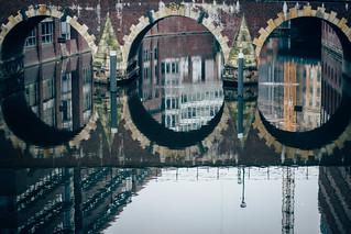 Hamburg in a Mirror