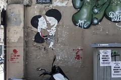 Le capitalisme € tue! (Ha La Lo - Rafael Cambre) Tags: paris france francia streetart stencil capitalismo capitalisme anticapitalismo chevalier graffiti
