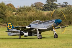 """North American P-51D Mustang """"Jumpin' Jacques"""" 44-72035 G-SIJJ (Ian Garfield - thanks for over 2 million views!) Tags: hangar 11 collection north american p51d mustang jumpin jacques 4472035 usaf united states army air corps force ian garfield photography old warden shuttleworth gsijj september race airshow airday display world war 2 one airplane avgeek aeroplane aircraft bedford vehicle outdoor"""