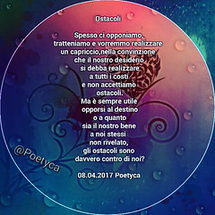 Ostacoli (Poetyca) Tags: featured image riflessioni di poetyca sfumature poetiche