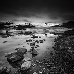 Glacier (vulture labs) Tags: iceland workshop photography bw