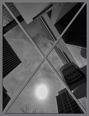 Looking up at the sky (uptownguydenver) Tags: denver colorado denverbuildings architecture architectural structures building edifice edifices commercialbuilding skyscraper environment ecology ecosystem environmentalism scenery downtown captureone lookingup cloudporn usa