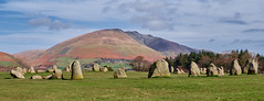 Castlerigg Stone Circle (scottprice16) Tags: england cumbria keswick stone stonecircle circle castlerigg castleriggstonecircle history neolithic 3000bc standingstones lakedistrict attraction touristattraction blencathra hills fells spring march historicengland fujixt1 18135mm