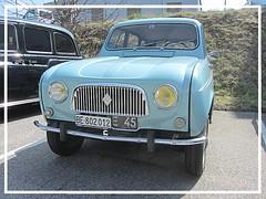 Renault 4L (1961-63) (v8dub) Tags: renault 4 l schweiz suisse switzerland fribourg freiburg french otm pkw voiture car wagen worldcars auto automobile automotive old oldtimer oldcar klassik classic collector