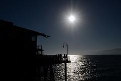 Santa Monica (Sean Sweeney, UK) Tags: nikon d7000 dslr california usa america la los angeles losangeles santa monica santamonica pier sunset sunburst sea silhouette silhouettes