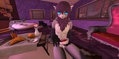 Purple time_006 (Kyon43) Tags: secondlife furry purple