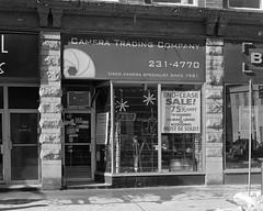 Camera Trading Company (Howard Sandler (film photos)) Tags: cameratradingcompany storefront ottawa graflex grafmatic pacemaker 4x5 largeformat blackandwhite hp5 wollensak