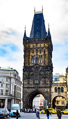 Prašná brána - Prague - Czech Republic (Just Julie - Photography) Tags: prague czech republic prašná brána travel history city town