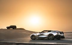 Because Dubai. (Alex Penfold) Tags: ferrari f12trs f12 trs chrome supercars supercar super car cars autos alex penfold 2017 dubai deset nissan patrol sand drift