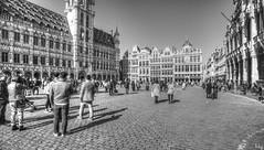 Bruxelles Monochrome (Ⓨ a s m i n e Ⓗ e n s +4 900 000 thx❀) Tags: bruxelles brussel 7dwf 7dayswithflickr bw blackandwhite monochrome belgium belgique hensyasmine hdr