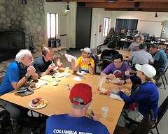 070 Lunch And Route Discussions (saschmitz_earthlink_net) Tags: 2017 california orienteering campscherman girlscoutcamp sanbernardinonationalforest sanjacintomountains laoc losangelesorienteeringclub